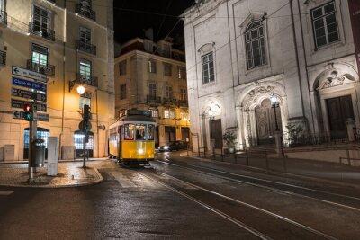Vinilo Tranvía Lisboa Portugal