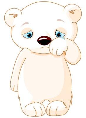 Vinilo Triste oso polar