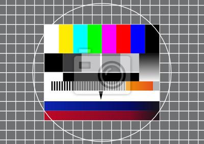 TV del modelo de prueba