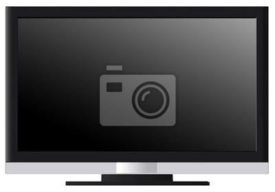 Vinilo TV en blanco
