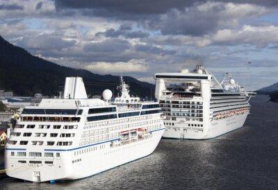 Vinilo Vacaciones de crucero en Alaska
