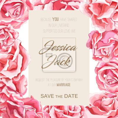 Vinilo vector mano rosa flor flor de patrones sin fisuras