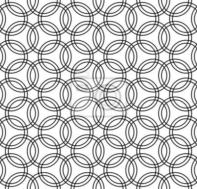 Vector Modern Seamless Geometry Pattern Interconnected