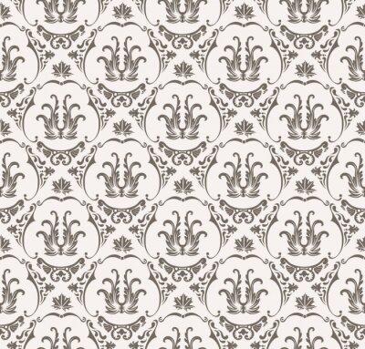 Vinilo Vector patrón sin fisuras con adornos de arte para el diseño
