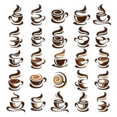 Vinilo Vector taza de café