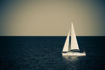 Vinilo Velero en el mar