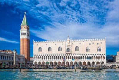 Vinilo Venecia con la Plaza de San Marcos en Italia