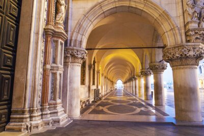 Vinilo Venezia, colonnato di Piazza San Marco.