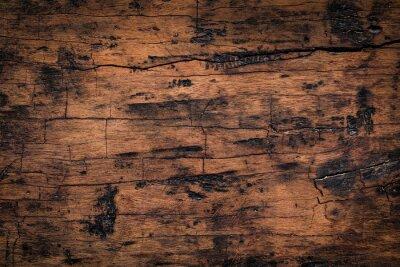 Vinilo Viejo fondo de madera de la textura del tablón. Textura natural resistida de tablas de madera.