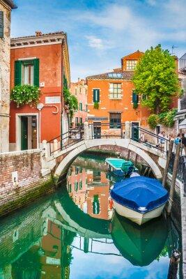 Vinilo Vista de la postal de Venecia, Italia