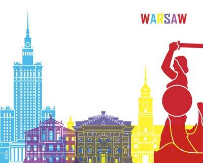 Vinilo Warsaw skyline pop