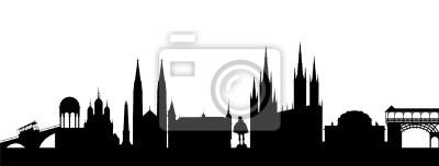 Vinilo Wiesbaden Silhouette