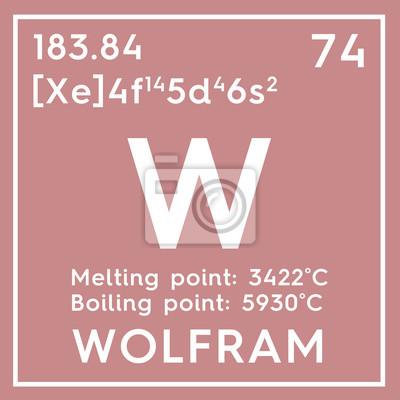 Wolfram metales de transicin elemento qumico de la tabla vinilos metales de transicin elemento qumico de la tabla peridica de mendeleev urtaz Image collections