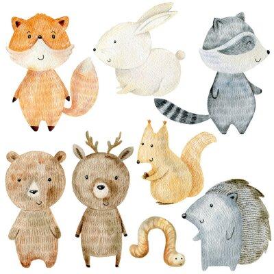 Vinilo Woodland Animals Set