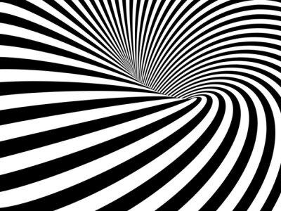 Vinilo Wormhole ilusión óptica