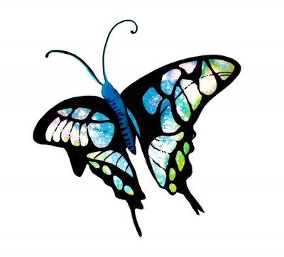 Vinilo 수채화 타 타 다 나비 표현 표현 표현 표현