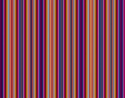 Vinilo Абстрактный разноцветный фон с полосами.