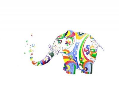 Vinilo Цветной слонёнок