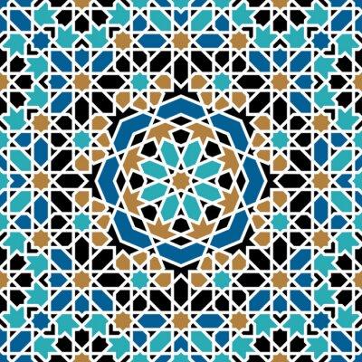 Vinilo Zagora Seamless Pattern Tres