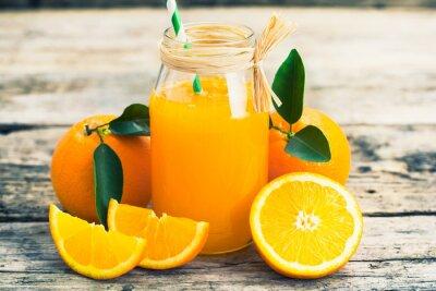 Vinilo zumo de naranja
